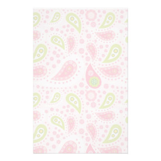 Parade of Pink Paisley Stationery