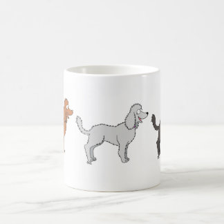 Parade of Poodles Mug