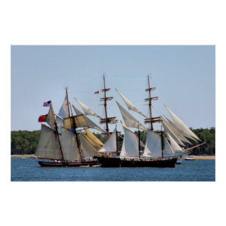 Parade of Sails - Halifax, Nova Scotia 2009 Poster