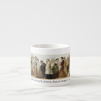 Parade of Shakespeare's Characters Espresso Cup