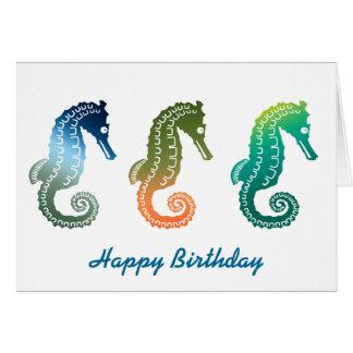 Parade of Tropical Seahorses Cards