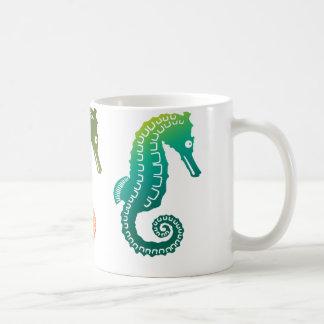 Parade of Tropical Seahorses Mug