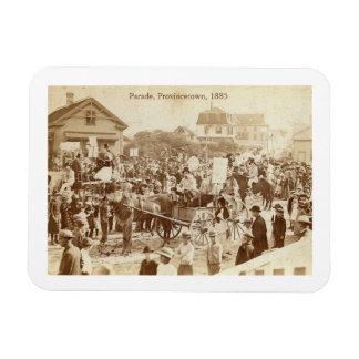 Parade, Provincetown, 1885 Vintage Magnet