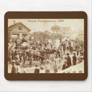 Parade, Provincetown, 1885 Vintage Mouse Pad