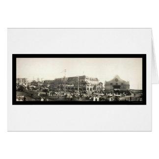 Parade Redondo Beach Photo 1910 Card
