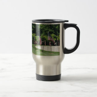 Parade Route Flag Patriotic Independence Day Photo Coffee Mugs