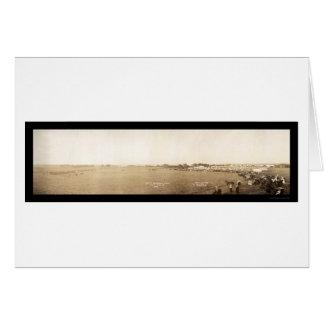 Parade Spirit Lake Photo 1908 Card