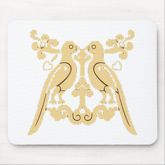 Paradiese Birds Mouse Pad