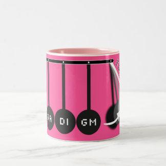 Paradigm Shift Pink Logo Mug
