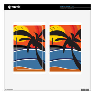 Paradise 01 kindle fire decal