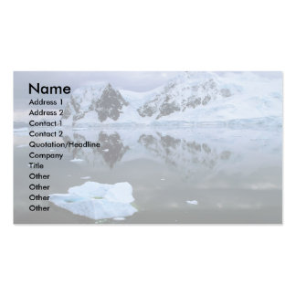 Paradise Bay, Antarctica Double-Sided Standard Business Cards (Pack Of 100)