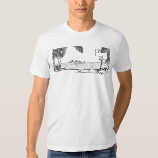 Paradise Bay Channel Islands View T-Shirt