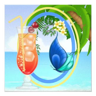 Paradise Beach Card