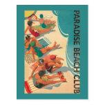Paradise Beach Club Postcard