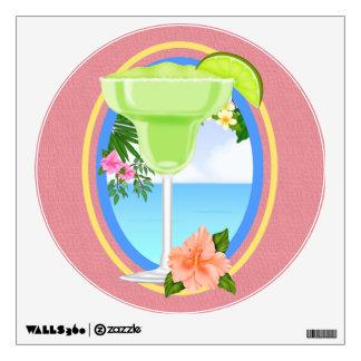 Paradise Beach Cocktail  - SRF Wall Decal