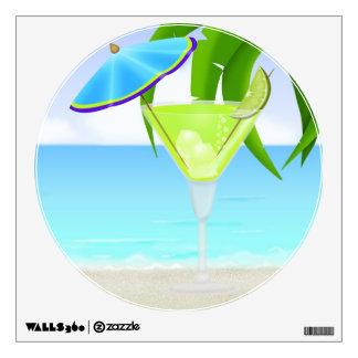 Paradise Beach Cocktail  - SRF Wall Sticker