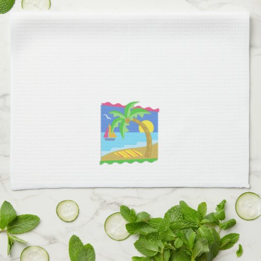 Paradise Beach Hand Towel