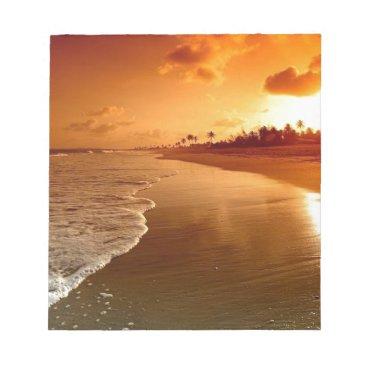 paradise beach hawaii notepad