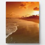 paradise beach hawaii plaque