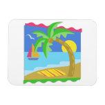 Paradise Beach Magnet