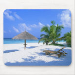 Paradise beach mouse pads