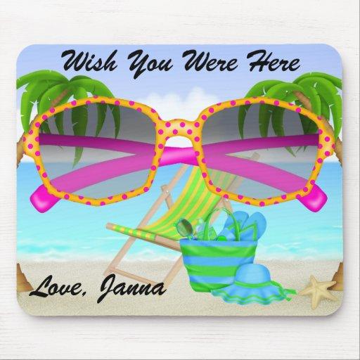 Paradise Beach Pad - SRF Mouse Pad