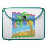 Paradise Beach Sleeve For MacBook Pro