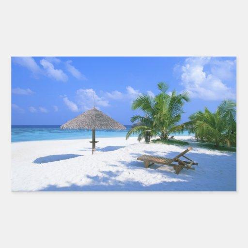 Paradise beach stickers