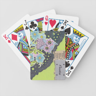 Paradise Bicycle Playing Cards