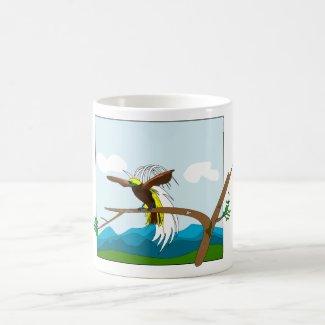 Paradise Bird Coffee Mug