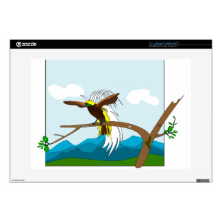 Paradise Bird Decals For Laptops