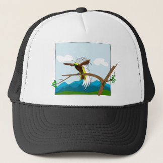 Paradise Bird Trucker Hat
