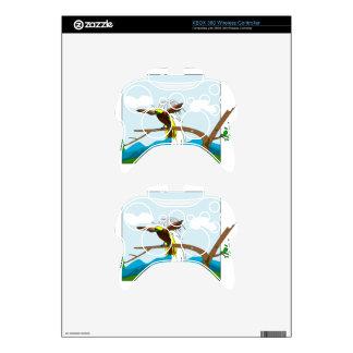 Paradise Bird Xbox 360 Controller Skins