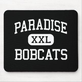 Paradise - Bobcats - High - Paradise California Mouse Mats
