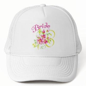 Paradise Bride Favors hat