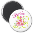Paradise Bride Favors magnet