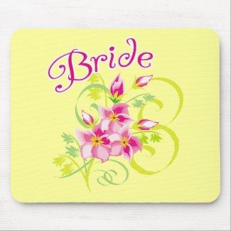 Paradise Bride Favors mousepad