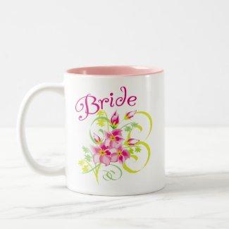 Paradise Bride Mug mug