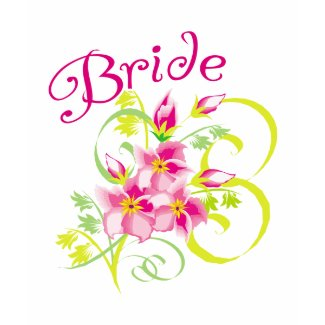 Paradise Bride T-shirts and Gifts shirt