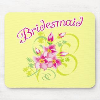 Paradise Bridesmaid T-shirts and Gifts Mouse Pad