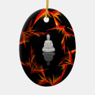 Paradise Buddha Ceramic Ornament