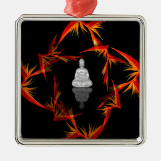 Paradise Buddha Metal Ornament