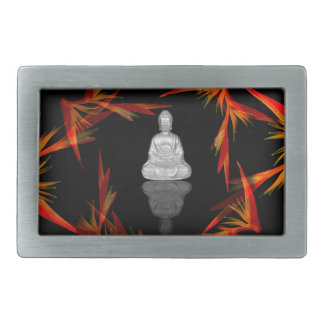 Paradise Buddha Rectangular Belt Buckle