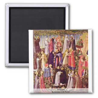 Paradise By Giovanni Di Paolo Magnets