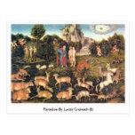 Paradise By Lucas Cranach (I) Postcard