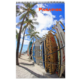 Paradise Calendar