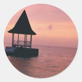 Paradise Classic Round Sticker