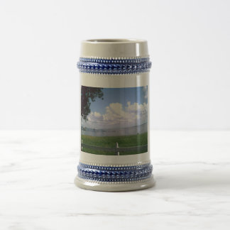 Paradise Collection Custom Personalized Stein 18 Oz Beer Stein