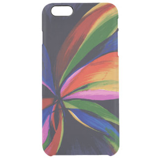 Paradise Colorful Abstract iPhone 6+ Clear Case