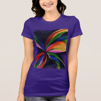 Paradise Colorful Abstract Original Art Shirt